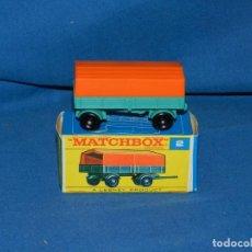 Coches a escala: (M) MATCHBOX SERIES 2 MERCEDES TRAILER CON CAJA, BUEN ESTADO. Lote 150143354