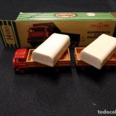 Coches a escala: MINI CARS - BARREIROS CON REMOLQUE - DIVISION TRANSPORTE Nº 26 - SERIE E. Lote 150760886
