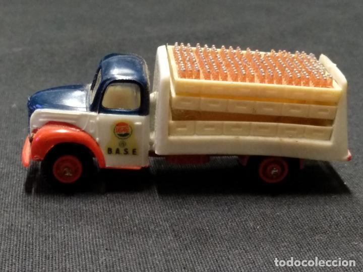 Coches a escala: MINI CARS - ANGUPLAS - CAMION EBRO PEPSI COLA - DIVISION TRANSPORTES 6 - SERIE E - Foto 2 - 150790986