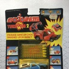 Coches a escala: ÚLTIMA UNIDAD! COCHE TURBOOM 2 PICK-UP TRUCK BREVETE AZUL - MAJORETTE 1987 - NUEVO A ESTRENAR. Lote 150799310