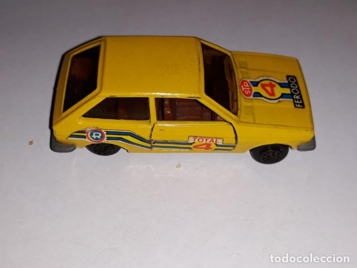 ANTIGUO COCHE GUILOY FORD FIESTA AMARILLO REF 611001 MADE IN SPAIN AÑOS 70 (Toys - Model Cars Other Scales)