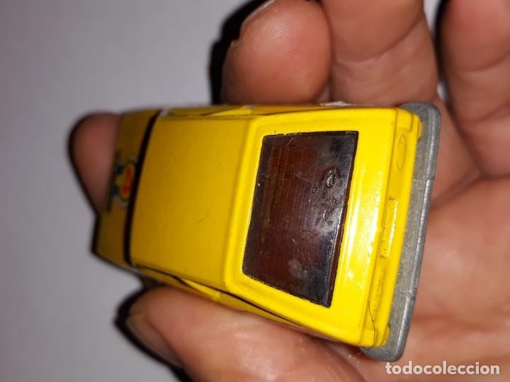 Model Cars: antiguo coche guiloy ford fiesta amarillo ref 611001 made in spain años 70 - Foto 4 - 150980610