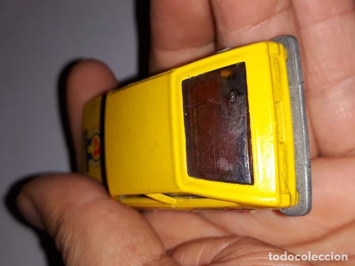 Model Cars: antiguo coche guiloy ford fiesta amarillo ref 611001 made in spain años 70 - Foto 6 - 150980610