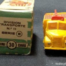 Coches a escala: MINI CARS - ANGUPLAS - CAMION EBRO COCA-COLA - DIVISION TRANSPORTE 11 - SERIE E - . Lote 150984286