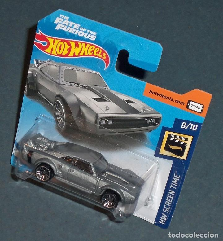 Dodge Ice Charger >> Coche Dodge Ice Charger The Fate Of The Furious Hot Wheels 1 64