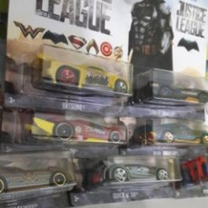 Coches a escala: HOT WHEELS JUSTICE LEAGUE DC 7/7. Lote 151389774