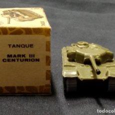 Coches a escala: MINI CARS - ANGUPLAS - TANQUE MARK III CENTURION - DIVISION MILITAR 2 - SERIE GB. Lote 151407102