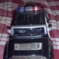 Coches a escala: MAISTO ~ COCHE SHERIFF 911 POLICIA TODOTERRENO HUMMER HX CONCEPT 1/39 NEUMÁTICO GOMA MOTOR PULLBACK. Lote 151685414