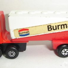 Coches a escala: ANTIGUO CAMION FREEWAY GAS TANKER MATCHBOX LESNEY SUPERFAST NUMERO 63. Lote 151953594