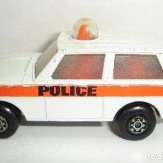 Coches a escala: ANTIGUO RANGE ROVER POLICE PATROL MATCHBOX LESNEY ROLAMATICS NUMERO 20. Lote 151956886