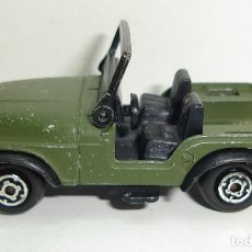 Coches a escala: ANTIGUO JEEP WILLYS MILITAR GUISVAL MADE IN SPAIN. Lote 151962802