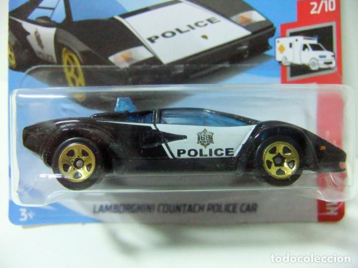 Lamborghini Countach Police Car Policia Hot W Buy Model Cars At