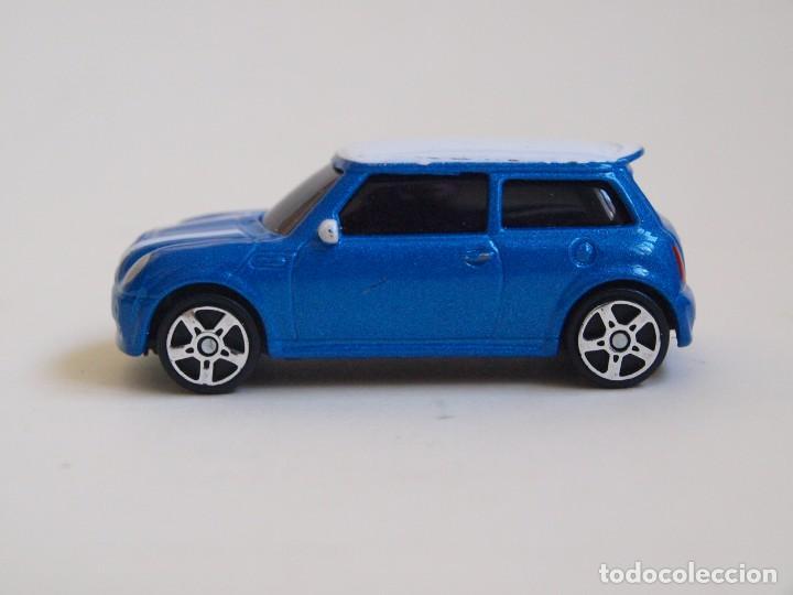 BMW Mini Cooper >> Maisto Bmw Mini Cooper S Azul Blanco Metalico Made In China 11115