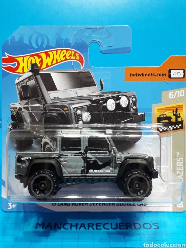 15 land rover defender double cab hot wheels 1/ - kaufen modellautos