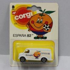 Model Cars - COCHE CORGI NARANJITO FURGONETA VAN ESPAÑA 82 - BLISTER NUEVO - 152410606