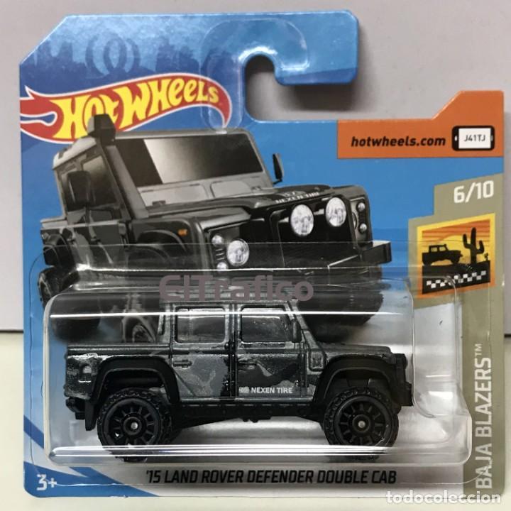 hot wheels land rover defender double cab 15 1: - kaufen modellautos