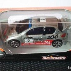 Coches a escala: MAJORETTE PEUGEOT 206 WRC #2(CAJA). Lote 153206050