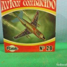 Coches a escala: JUGUETES RICO-REF-29 AVION DE RICO,ARTICULO NUEVO DE ALMACEN . Lote 153537382