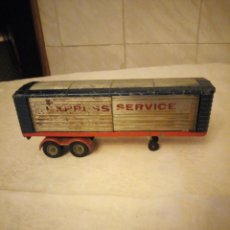Coches a escala: TRAILER ARTICULADO CORGI MAJOR TOYS MADE IN GT BRITAIN ,EXPRESS SERVICE. METÁLICO.. Lote 153867230
