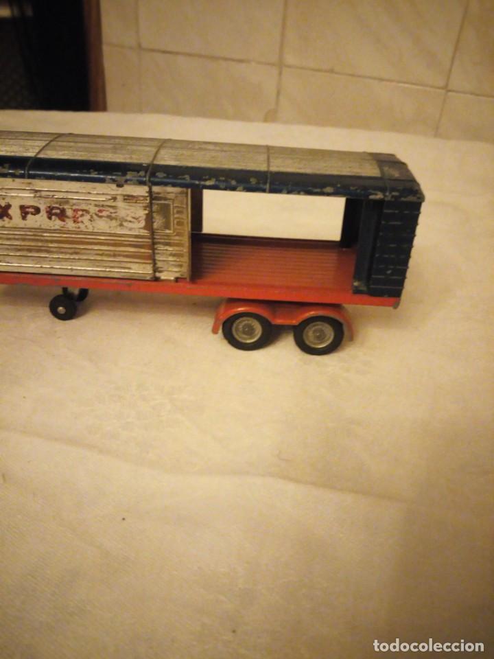 Coches a escala: trailer articulado corgi major toys made in gt britain ,express service. metálico. - Foto 3 - 153867230