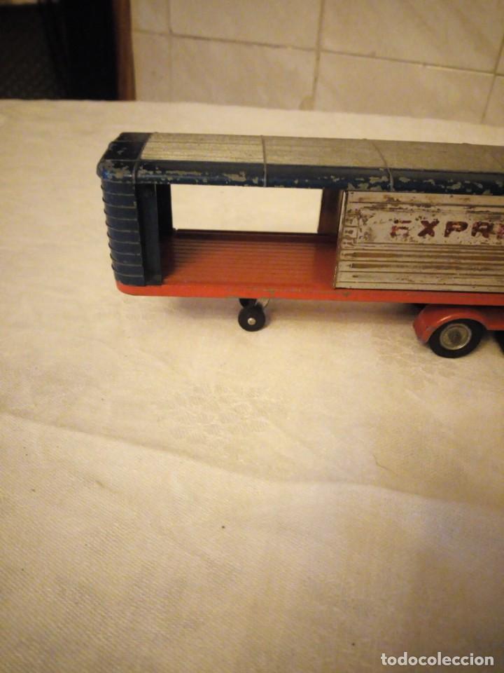 Coches a escala: trailer articulado corgi major toys made in gt britain ,express service. metálico. - Foto 4 - 153867230