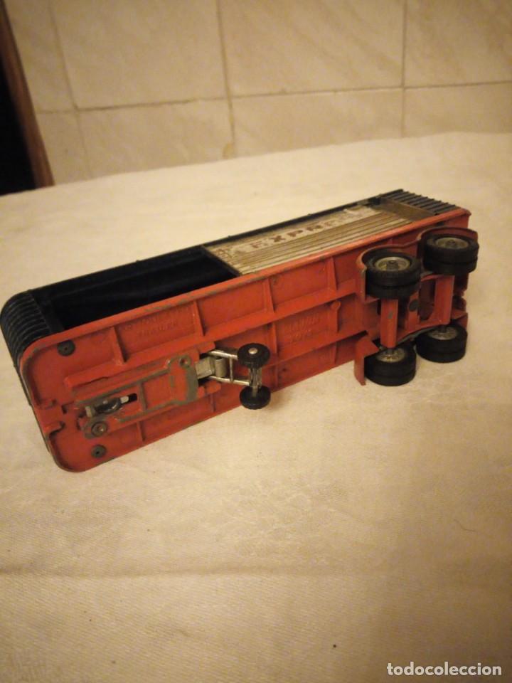 Coches a escala: trailer articulado corgi major toys made in gt britain ,express service. metálico. - Foto 5 - 153867230
