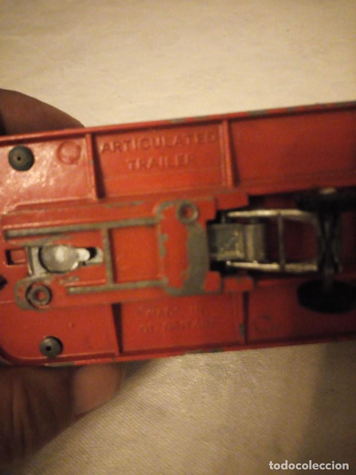 Coches a escala: trailer articulado corgi major toys made in gt britain ,express service. metálico. - Foto 6 - 153867230