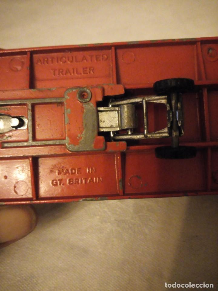 Coches a escala: trailer articulado corgi major toys made in gt britain ,express service. metálico. - Foto 7 - 153867230