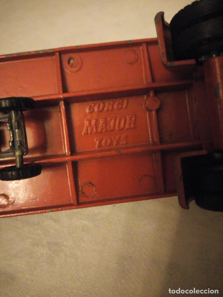 Coches a escala: trailer articulado corgi major toys made in gt britain ,express service. metálico. - Foto 8 - 153867230