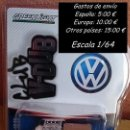 Coches a escala: GREENLIGHT V-DUB - 1971 VOLKSWAGEN TYPE 2 DOUBLE CAB PICKUP. Lote 153895290