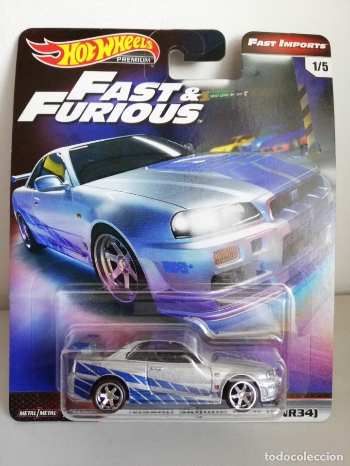 2019 Hot Wheels Premium Fast /& Furious Nissan Skyline GT-R Real Riders