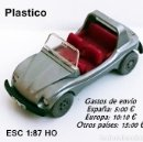 Coches a escala: WIKING - VOLKSWAGEN BUGGY / GRIS . Lote 154457594