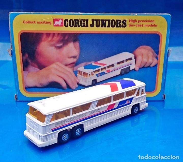 Coches a escala: CORGI JUNIORS GREYHOUND MC-8 AMERICRUISER BUS COACH - Foto 2 - 154458866