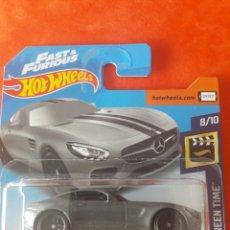 Model Cars - Hot Wheels Mercedes AMG GT FAST & FURIOUS - 161393969