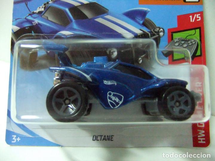 Automóvil 64 Miniatura Rocket Coche League Over 1 Mattel Escala Wheels 15 Octane Game Hot Hw nkOPw0