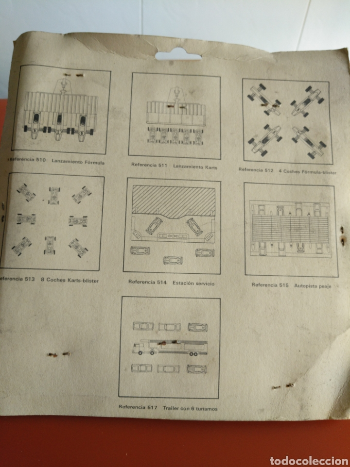 Coches a escala: BLISTER AUTOPISTA DE PEAJE CON 8 COCHES ESCALA H0, 1/87, FABRICADOS POR ECA EN LOS 70, REF 515 - Foto 2 - 155386098