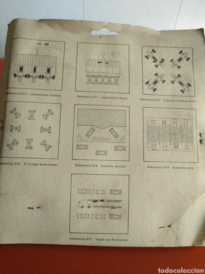 Coches a escala: BLISTER AUTOPISTA DE PEAJE CON 8 COCHES ESCALA H0, 1/87, FABRICADOS POR ECA EN LOS 70, REF 515 - Foto 7 - 155386098