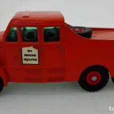 Coches a escala: ANTIGUO CAMION, MATCHBOX SERIES KING SIZE Nº 8 , MADE IN ENGLAND, SCAMMELL 6X6 TRACTOR. Lote 155566930
