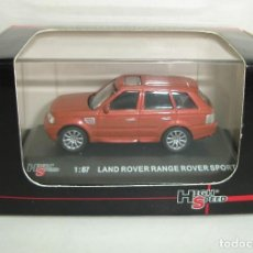Coches a escala: LAND ROVER RANGE ROVER SPORT HIGH SPEED ESCALA 1:87. Lote 155758938