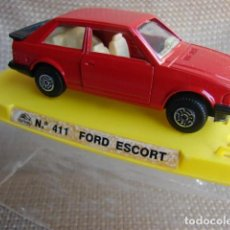 Coches a escala: FORD ESCORT REF. 411 - GUISVAL. Lote 156669798