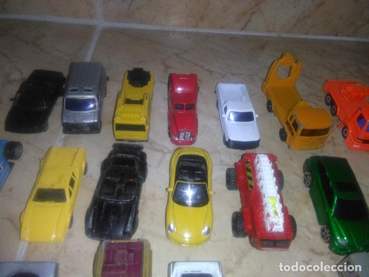 Coches a escala: Lote coches welly burguer king cars majorette mira hot wheels - Foto 3 - 157832974
