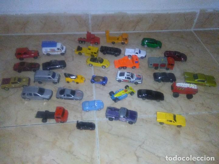 Coches a escala: Lote coches welly burguer king cars majorette mira hot wheels - Foto 7 - 157832974