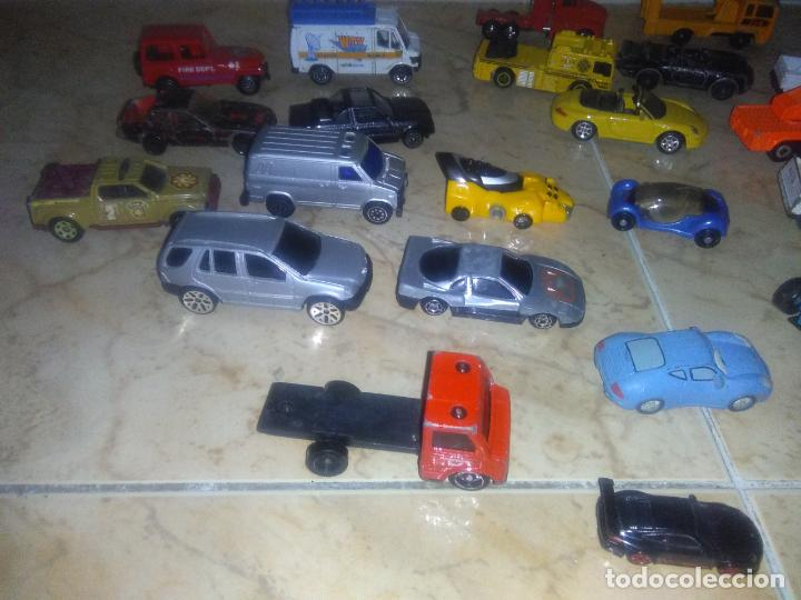 Coches a escala: Lote coches welly burguer king cars majorette mira hot wheels - Foto 8 - 157832974
