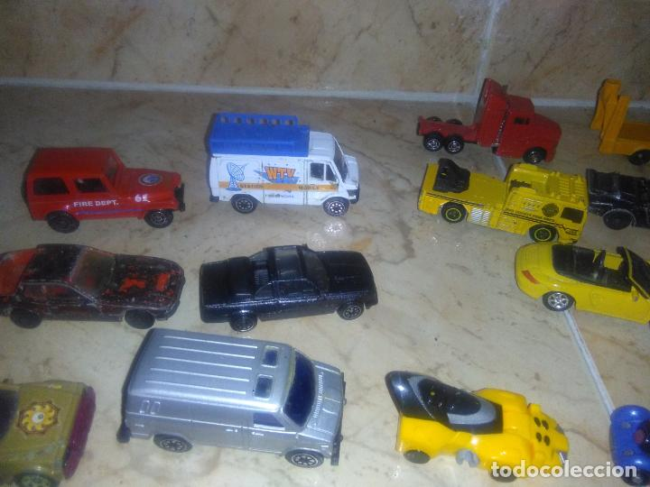 Coches a escala: Lote coches welly burguer king cars majorette mira hot wheels - Foto 9 - 157832974
