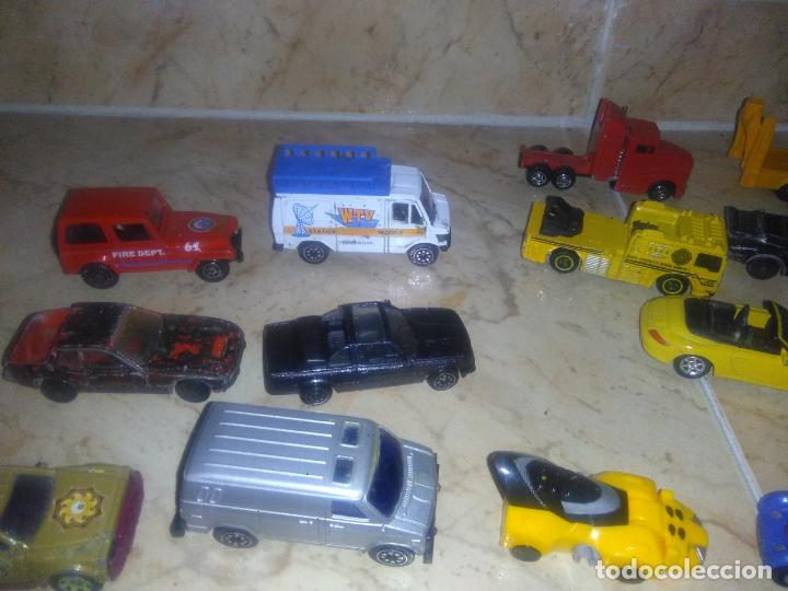 Coches a escala: Lote coches welly burguer king cars majorette mira hot wheels - Foto 10 - 157832974