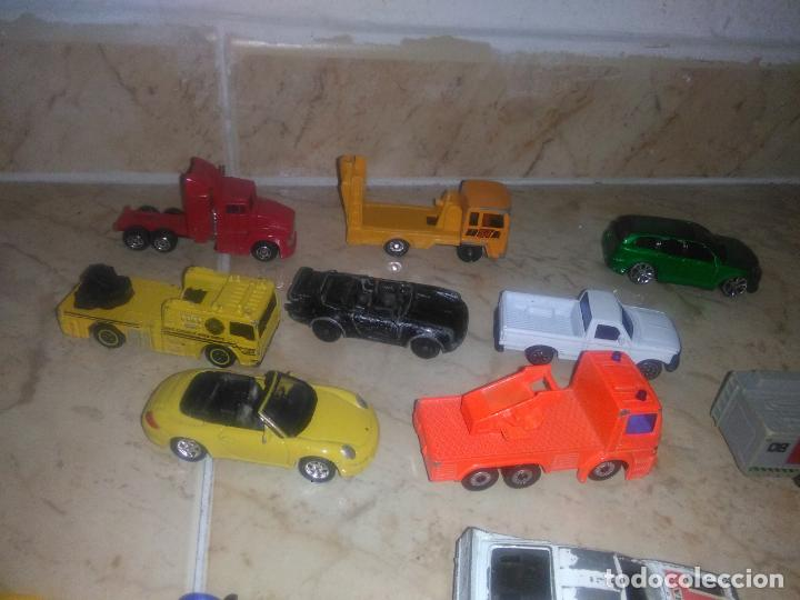 Coches a escala: Lote coches welly burguer king cars majorette mira hot wheels - Foto 11 - 157832974