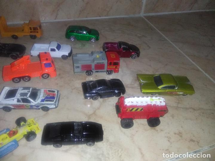 Coches a escala: Lote coches welly burguer king cars majorette mira hot wheels - Foto 12 - 157832974