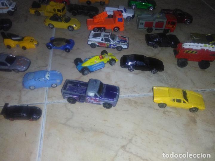 Coches a escala: Lote coches welly burguer king cars majorette mira hot wheels - Foto 13 - 157832974