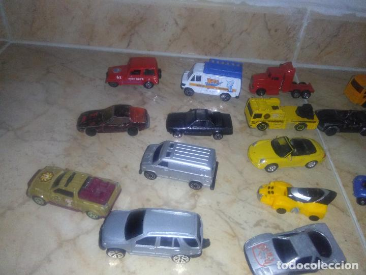 Coches a escala: Lote coches welly burguer king cars majorette mira hot wheels - Foto 15 - 157832974