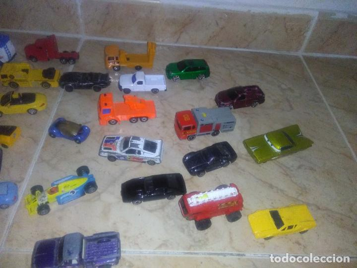 Coches a escala: Lote coches welly burguer king cars majorette mira hot wheels - Foto 17 - 157832974